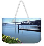 Bay Bridge Weekender Tote Bag