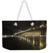 Bay Bridge San Fransico Weekender Tote Bag
