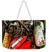 Bay Front Buoys Weekender Tote Bag