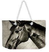 My Friend The Bay Horse Weekender Tote Bag