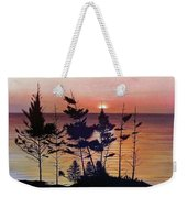 Bay Of Fundy Sunset Weekender Tote Bag