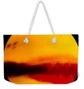 Bay Scene In Pastels Weekender Tote Bag
