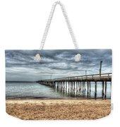 Bay Side Lynnhaven Fishing Pier Weekender Tote Bag
