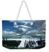 Bayonne Bridge Weekender Tote Bag