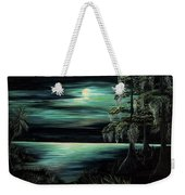 Bayou By Moonlight Weekender Tote Bag
