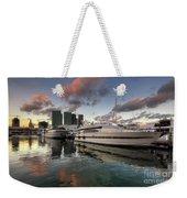 Bayside Sunset Weekender Tote Bag