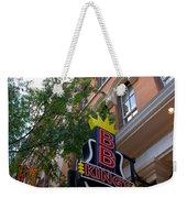 Bb King Bar Nashville Weekender Tote Bag