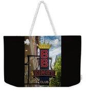 Bb King's Blues Club - Honky Tonk Row Weekender Tote Bag