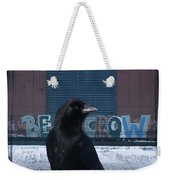 Be Crow Weekender Tote Bag
