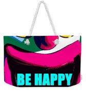 Be Happy Clown 2 Weekender Tote Bag