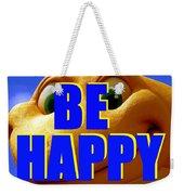 Be Happy Dino Weekender Tote Bag