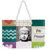 Be Present Weekender Tote Bag