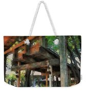 Be Still In This Quiet Place Weekender Tote Bag