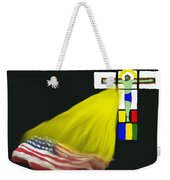Be With Us Weekender Tote Bag