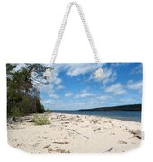 Beach And A Lake Weekender Tote Bag