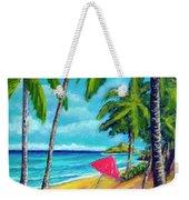 Beach And Mokulua Islands  #368 Weekender Tote Bag