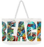 Beach Art - Beachy Keen - By Sharon Cummings Weekender Tote Bag