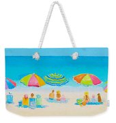 Beach Art - Crazy Lazy Summer Days Weekender Tote Bag