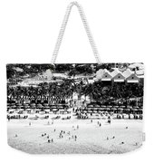 Beach At Grand Turk Weekender Tote Bag