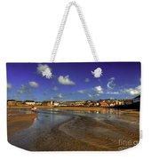 Beach At Perranporth Weekender Tote Bag