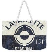 Beach Badge Lavalette Weekender Tote Bag