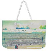 Beach Ball And Swimmers Weekender Tote Bag