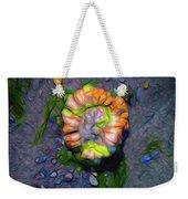 Beach Barnacle Flower Weekender Tote Bag