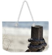Beach Barrier Weekender Tote Bag