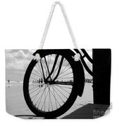 Beach Bicycle Weekender Tote Bag