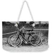 Beach Bicycles Weekender Tote Bag