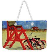 Beach Bikes Weekender Tote Bag