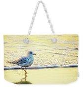 Beach Bird Weekender Tote Bag