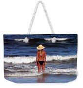 Beach Blonde - Digital Art Weekender Tote Bag