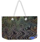 Beach Bubbles Abstract Weekender Tote Bag