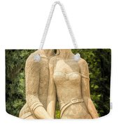 Beach Buddies Blue Water Sand Sculpture Weekender Tote Bag