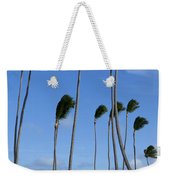 Beach Cabanas And Palm Trees Weekender Tote Bag