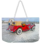 Beach Car Weekender Tote Bag