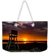 Beach Chair Weekender Tote Bag