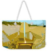 Beach Chair Work Number 3 Weekender Tote Bag