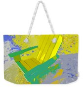 Beach Chair Work Number Six Weekender Tote Bag