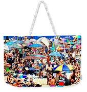 Beach Chaos Weekender Tote Bag