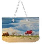 Beach Clouds Weekender Tote Bag