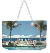 Beach Club Weekender Tote Bag