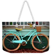 Beach Cruiser Bike Weekender Tote Bag