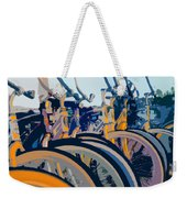 Beach Cruisers At Dawn Weekender Tote Bag