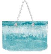 Beach Day Blue- Art By Linda Woods Weekender Tote Bag