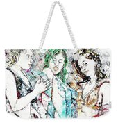Beach, Digital Weekender Tote Bag