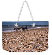 Beach Dogs Weekender Tote Bag