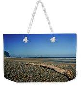 Beach Driftwood Weekender Tote Bag