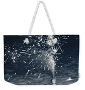 Beach Fire Works Weekender Tote Bag